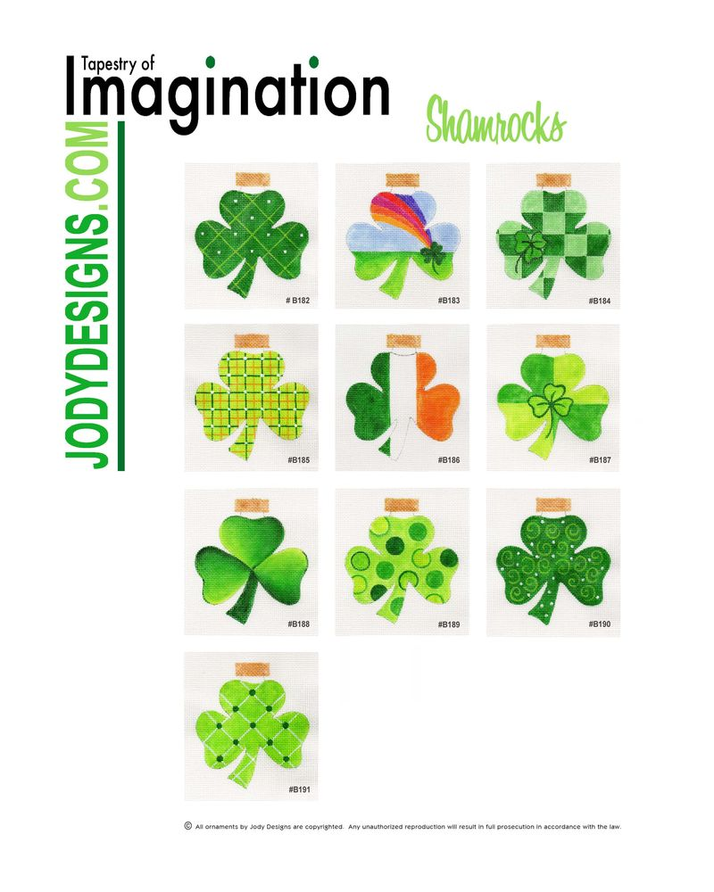 JODY DESIGNS-Shamrock Flier