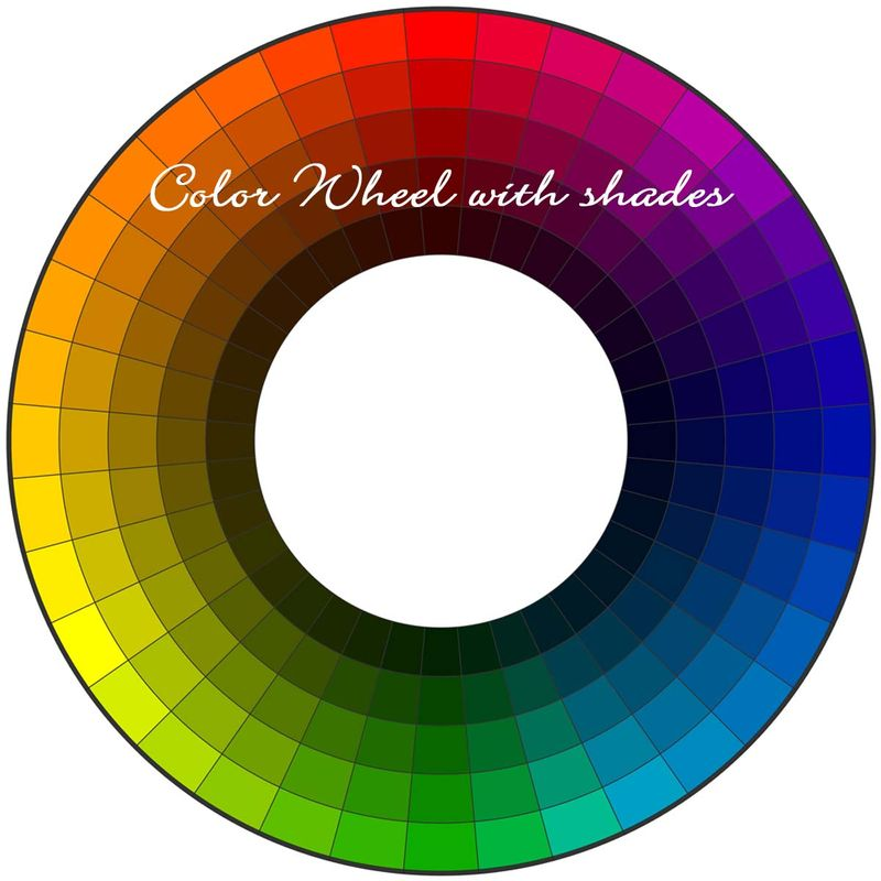 ColorWheel with shades