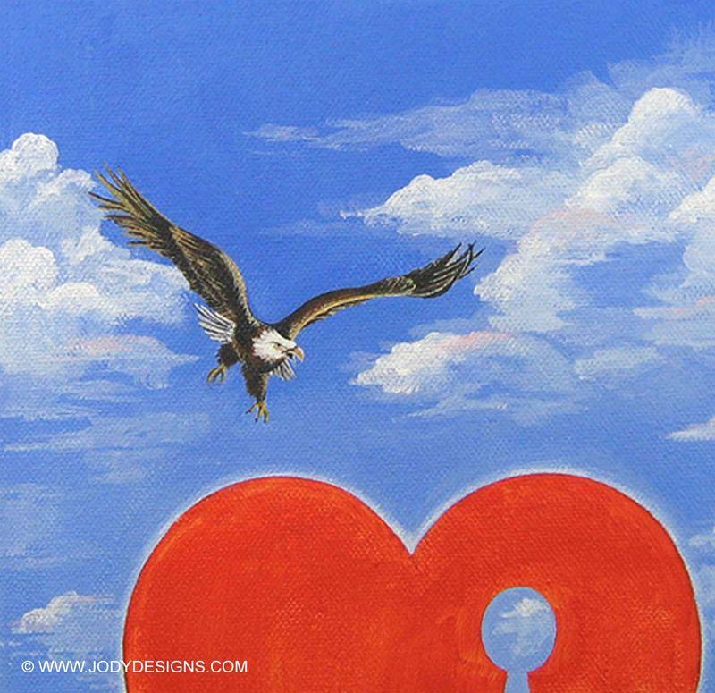 Valentine eagle