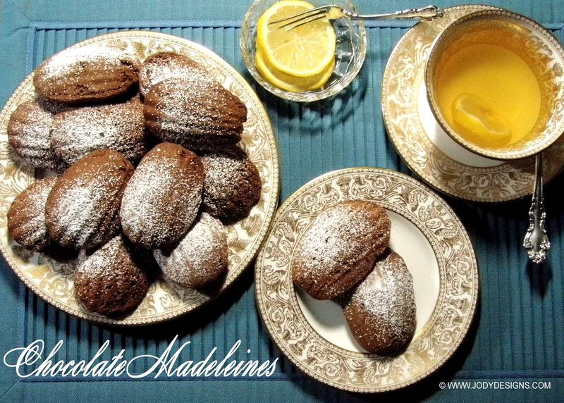 Chocolate Madeleines:blog photo