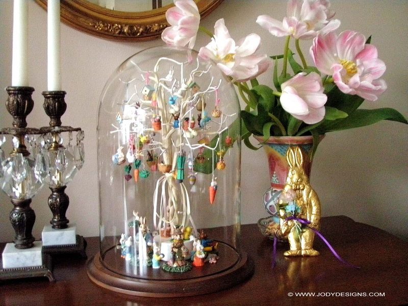Blog-Easter tree under dome