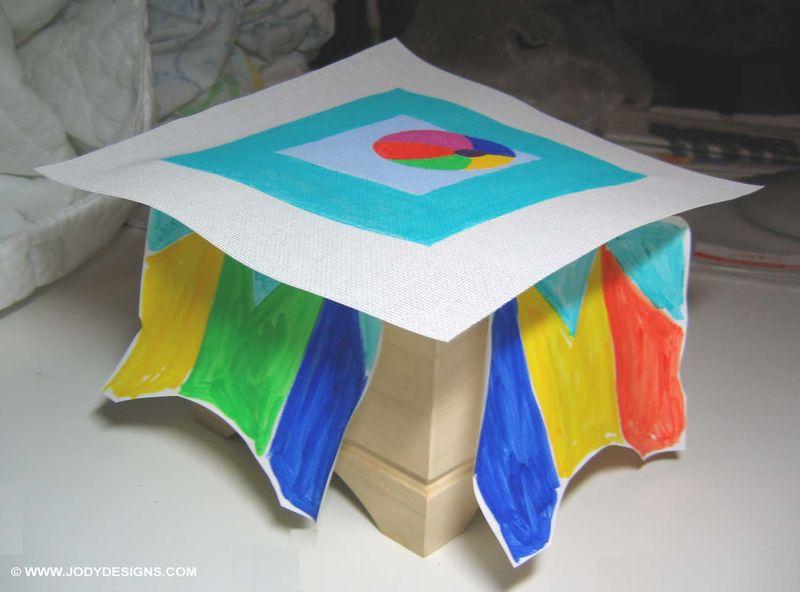 Blog:stool & canvas