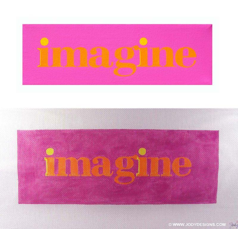Imagine-canvas & wall art