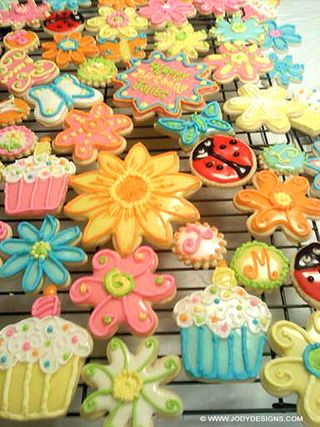 H&K spring cookies:blog