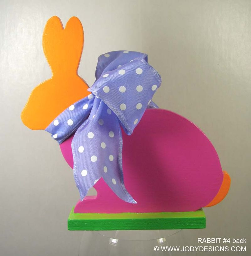 ETSY - Rabbit #4 : back