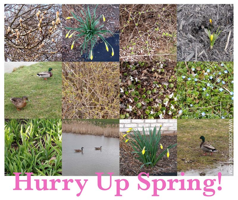 Blog:hurry up spring