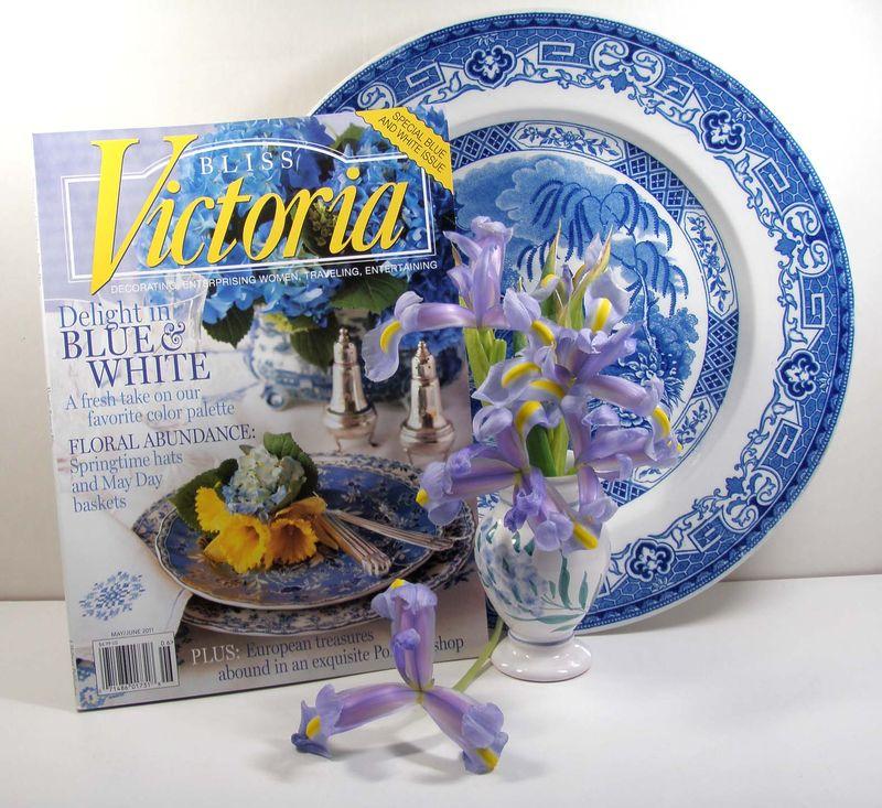 Blog:victoria magazine & plate