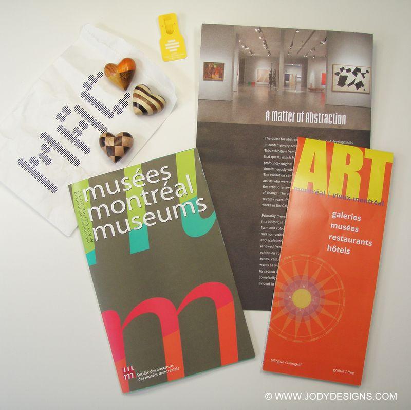 Blog-Museum brochures