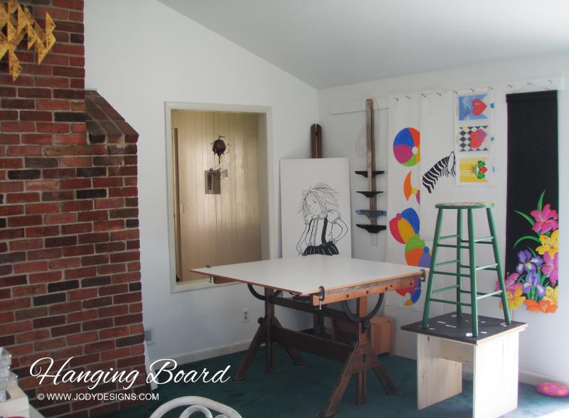 Studio 1 hanging Board