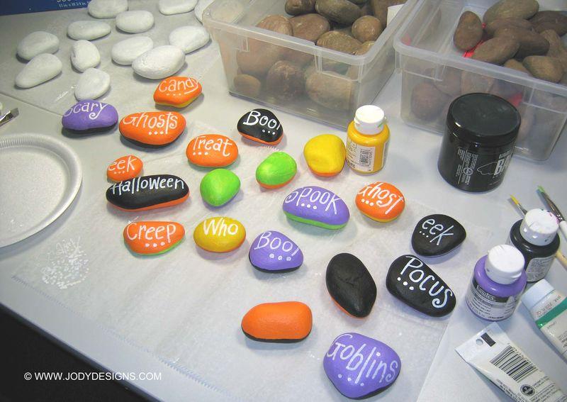 Spooky stones edit